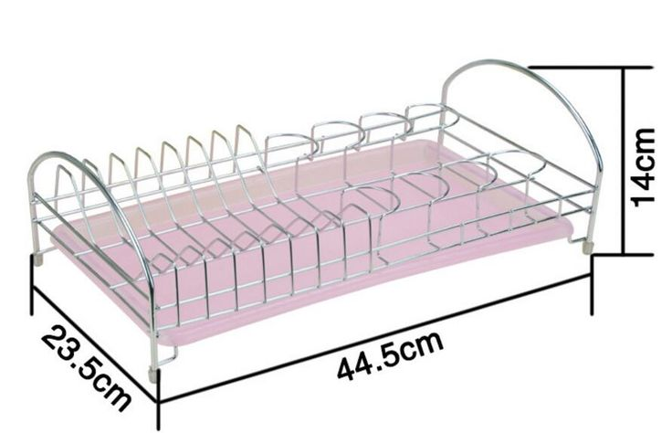 High quality Stainless Steel Dishes Drainer Household Kitchen Dish Draining Holder Bowl Storage Rack with tray kitchen table * AliExpress Affiliate's Pin. Clicking on the image will lead you to find similar product