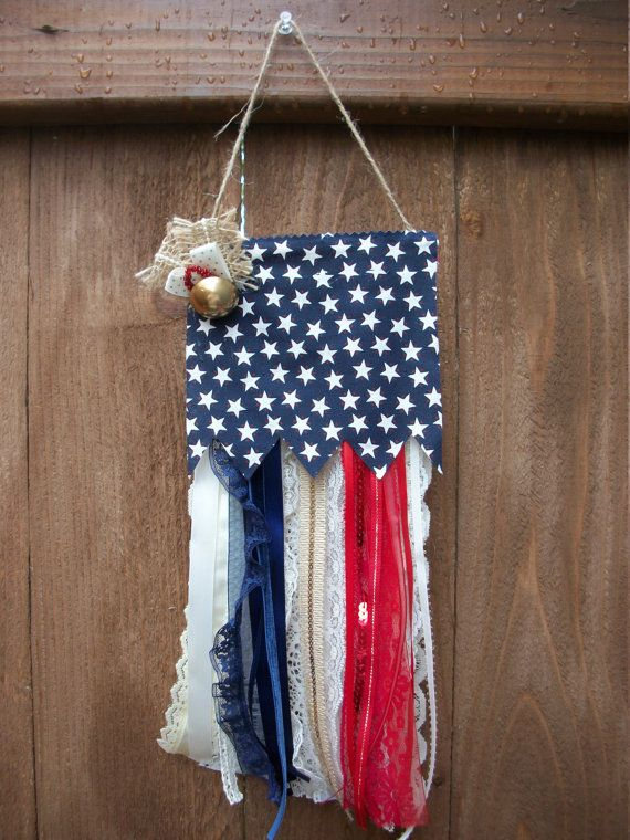 Stars & Stripes American Flag Banner Americana by BadCatCraft