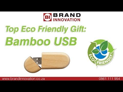 Best Eco Friendly Gifts - The Bamboo USB Flash Drive
