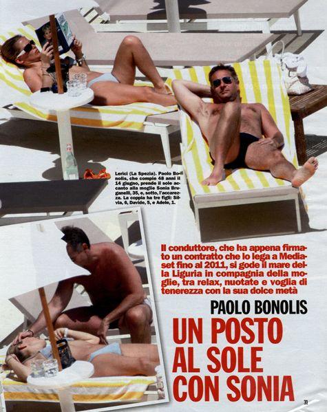 Paolo Bonolis with a glass Mario Luca Giusti. http://trend-on-line.com/brand/mario-luca-giusti