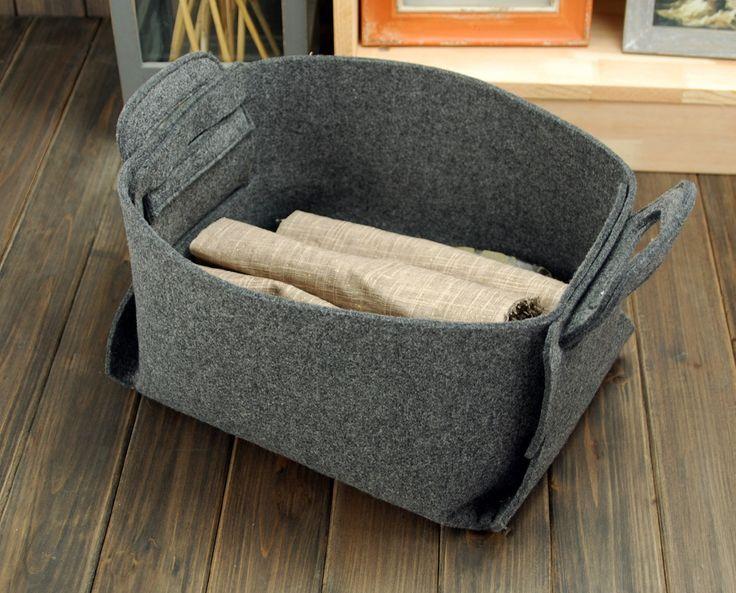Envío gratuito fieltro caja contenedor cesta sentía por Filzkraft