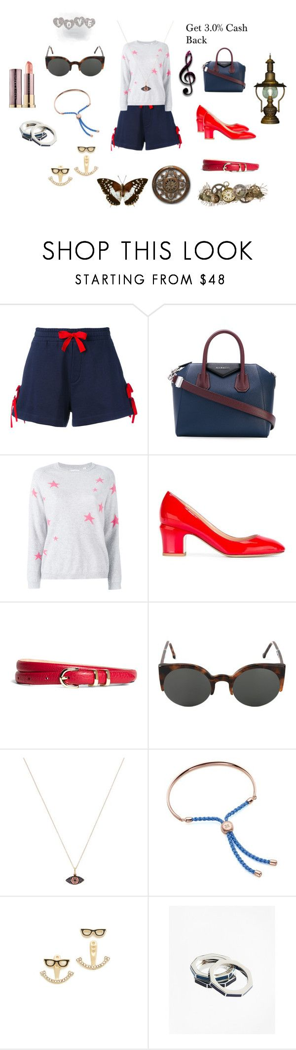 """Dress yourself"" by jamuna-kaalla ❤ liked on Polyvore featuring Givenchy, Chinti and Parker, Valentino, Brooks Brothers, RetroSuperFuture, Ileana Makri, Monica Vinader, Kate Spade and vintage"