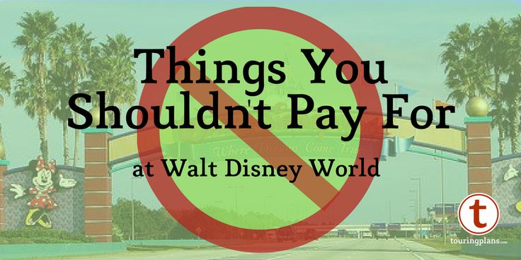 Save money at Disney World by avoiding these common purchases
