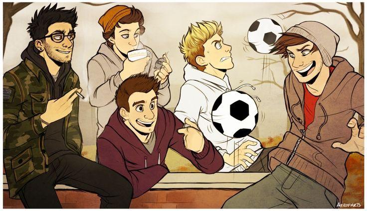 One Direction Fan art | One Direction | Pinterest