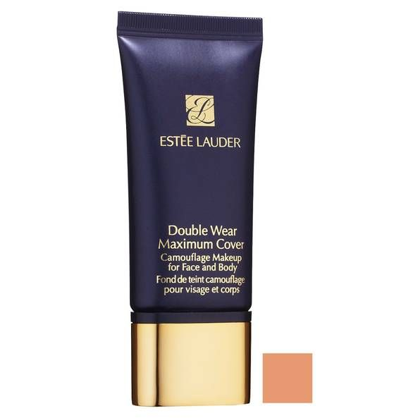 ESTEE LAUDER Double Wear Maximum Cover Foundation 07 Medium Deep
