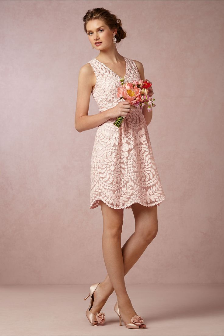 Sienna Bridesmaids Dress in blush from BHLDN