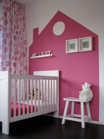baby/kinder kamer roze - Interieur - ShowHome.nl