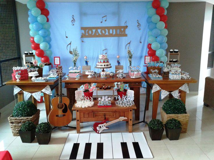 festa infantil instrumentos musicais - Pesquisa Google
