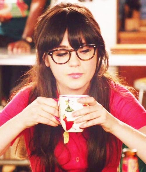 zooey deschanel glasses - Google Search