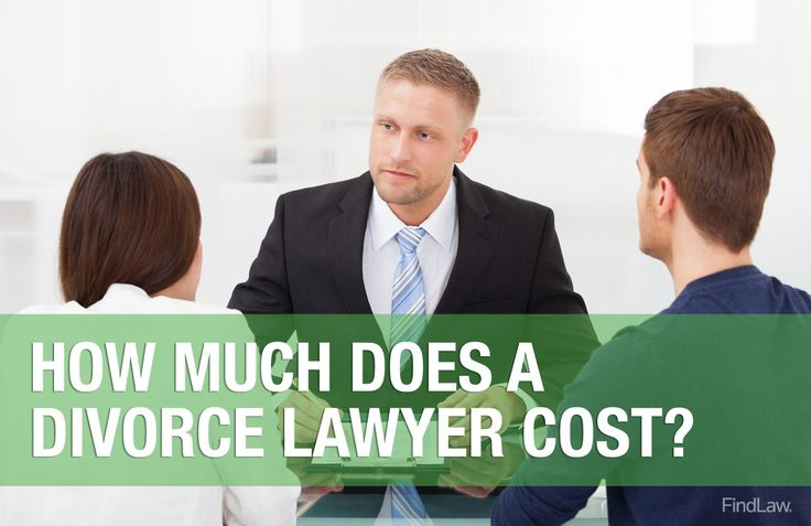 How much does a #divorce lawyer cost? Learn here