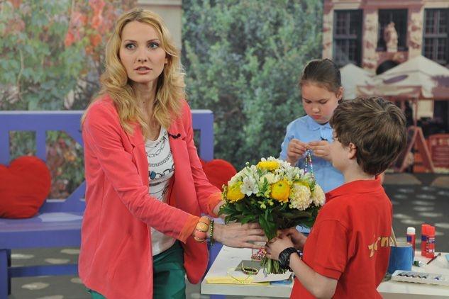 Dzieci także będą miały dla Joanny miły prezent (fot. J. Bogacz/TVP)