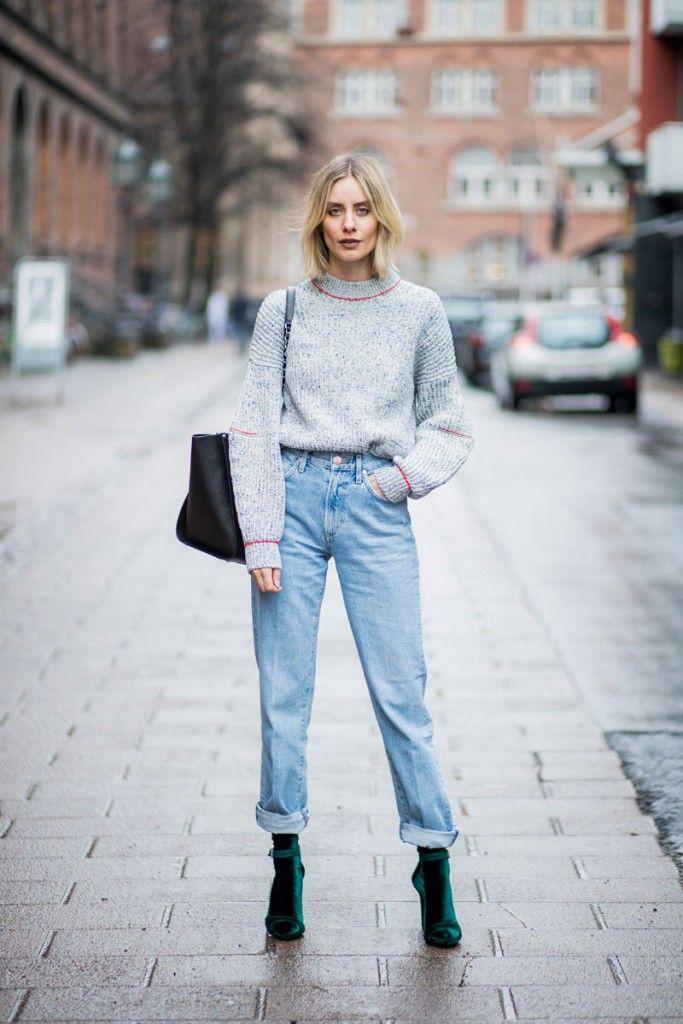 Boyfriend Jeans stylish kombinieren   Fashion Tutorial