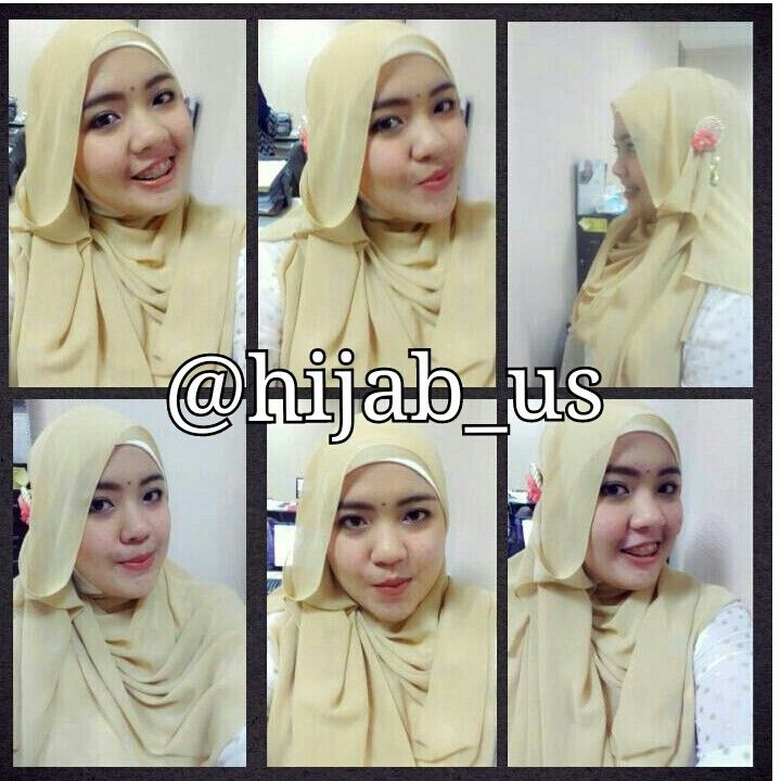 Wow cantik ya pakai pashmina by hijab_us, thanks ya say udh beli pashminanya hijab_us :*
