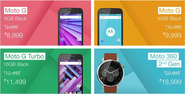 Moto Smartphones & Smartwatches Are Now Discounted In India #Android #CES2016 #Google