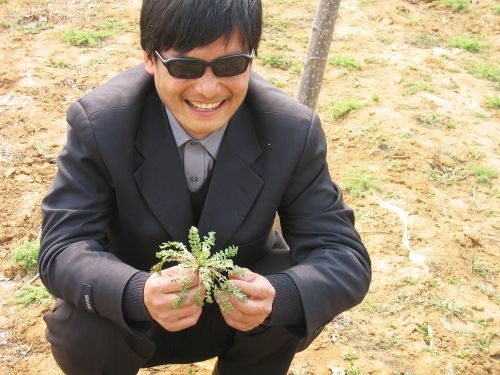 Chen Guangcheng - blind Chinese rights activist