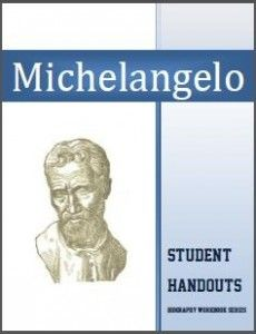 Michelangelo Biography Workbook Unit