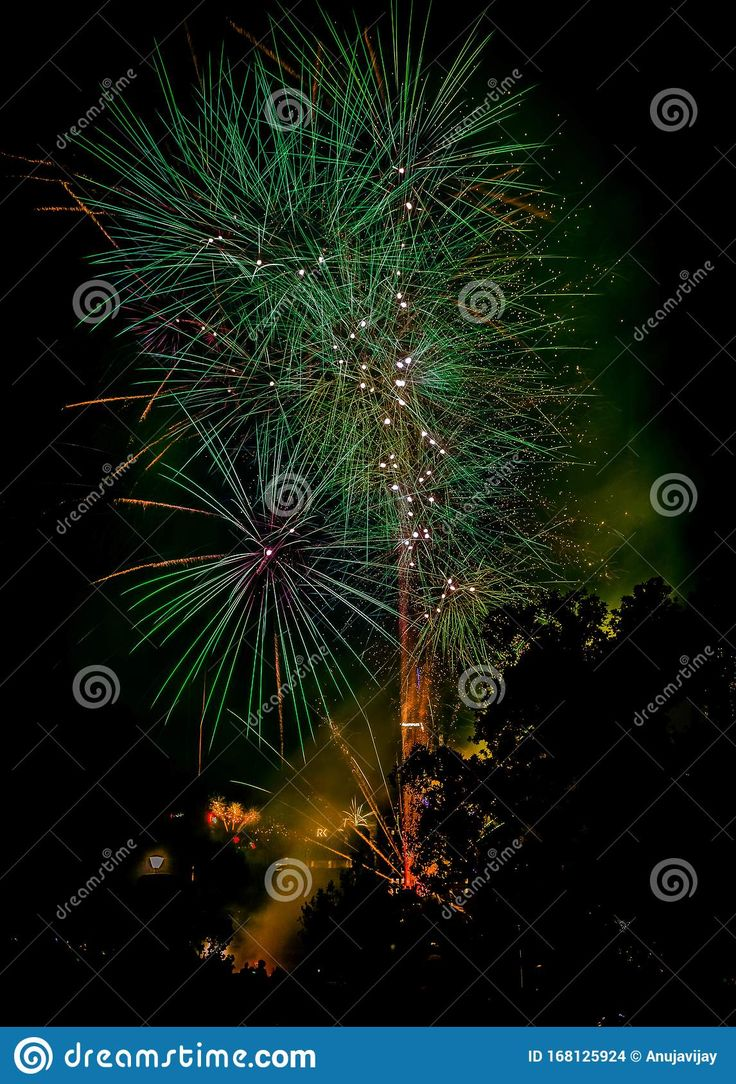 Photo about New year Eva& x27;s fireworks Melbourne. New