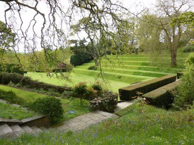 Dartington Hall garden