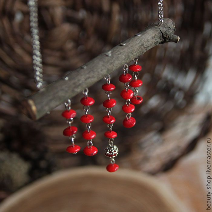 Eco wooden necklace
