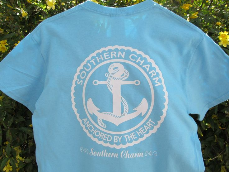 Southern Charm Anchor Tee Southern Charm Mens Tops