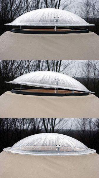 adjustable dome window #yurt