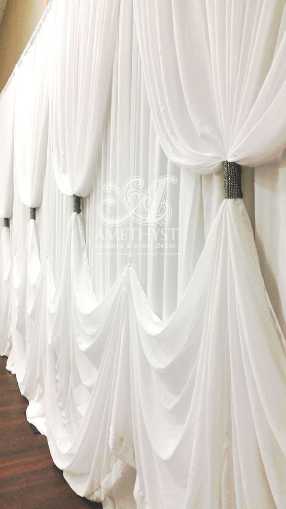 Criss Cross curtain backdrops - Google Search