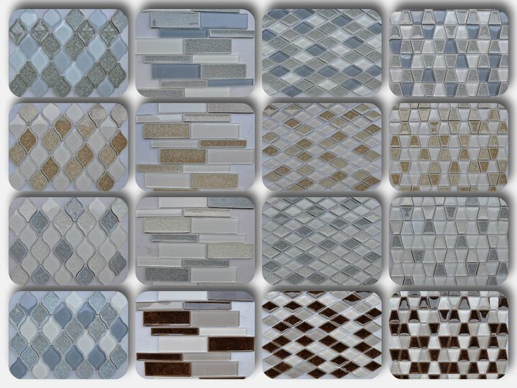 Light blue colorful glass for a luxurious look   Crackle glass mosaic adds personal style to a backsplash or a bathroom. Have a look at our newest Le Crete collection @ www.arvexmosaic.com