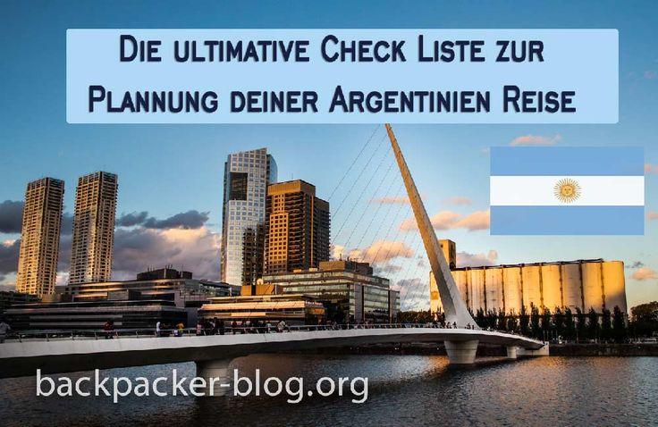 Argentinien Reise Planung: 3 Fragen die du dir vorher stellen solltest.