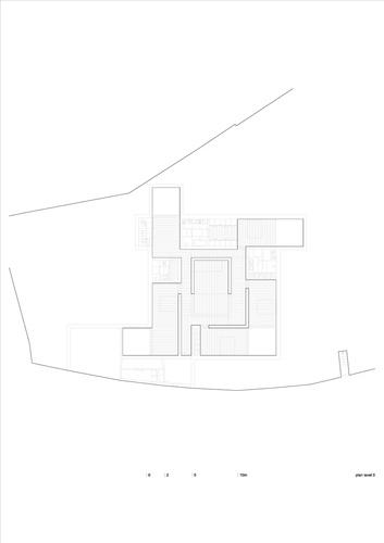 Leiria, Portugal  House in Leiria  AIRES MATEUS ASSOCIADOS Plan-level-0