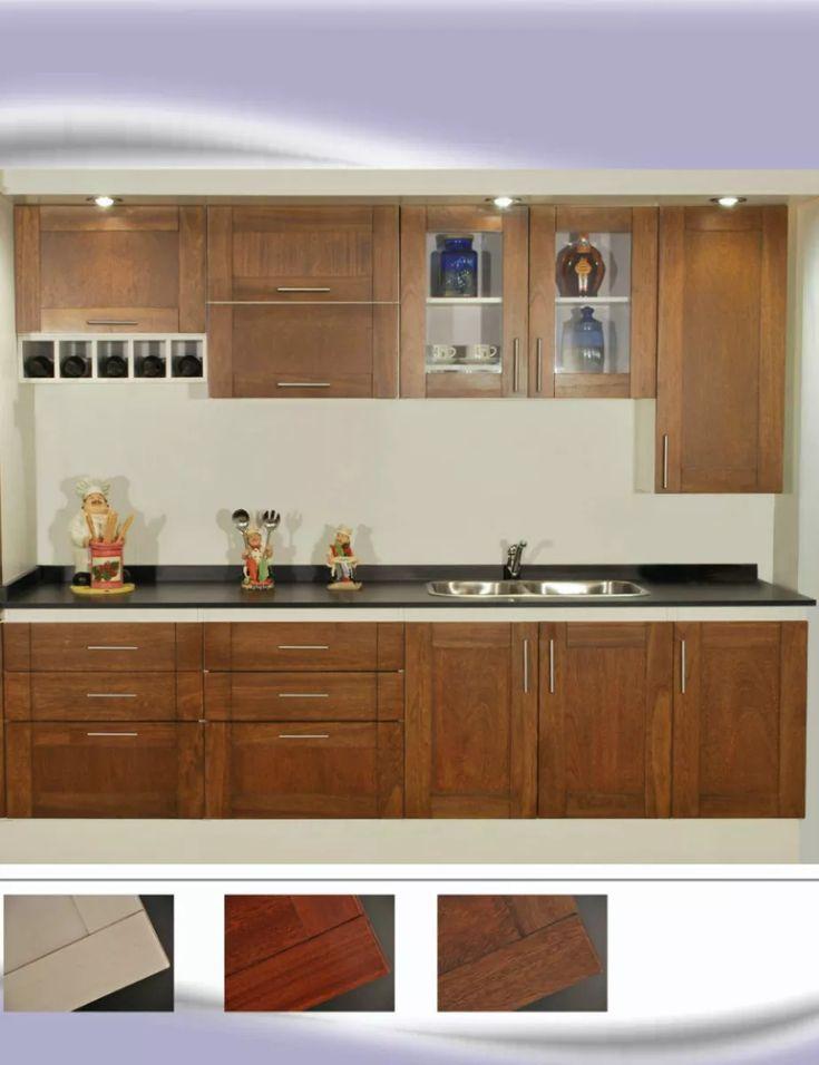 M s de 25 ideas incre bles sobre muebles bajo mesada en for Muebles de cocina de madera maciza catalogo