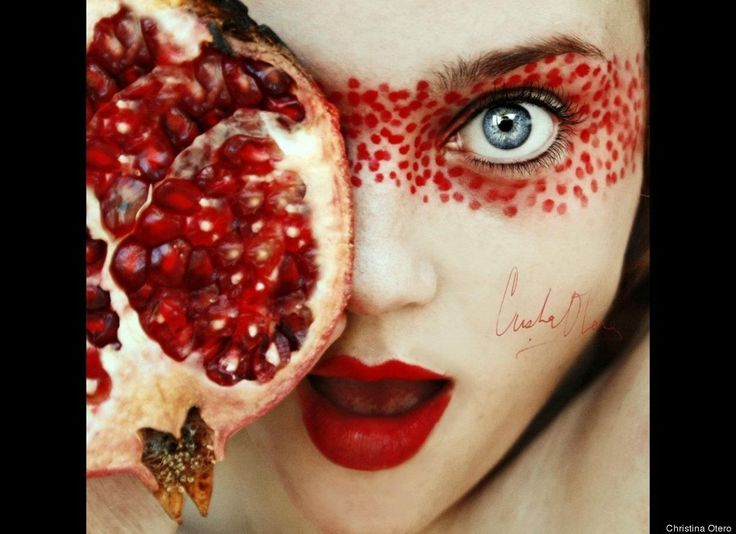 Cristina Otero, 16-Year-Old Photographer, Creates Stunning Self-Portraits With Fruit (PHOTOS)
