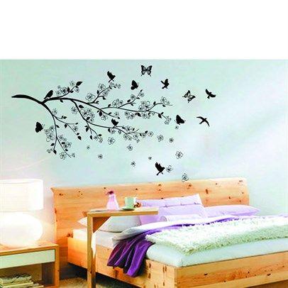 11 besten Gestaltung Bilder auf Pinterest Wandtattoo wohnzimmer - wohnideen fr schlafzimmer mit wandtattoo