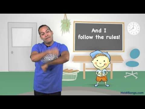 I Can Follow the Rules Song | Music for Classroom Management - YouTube