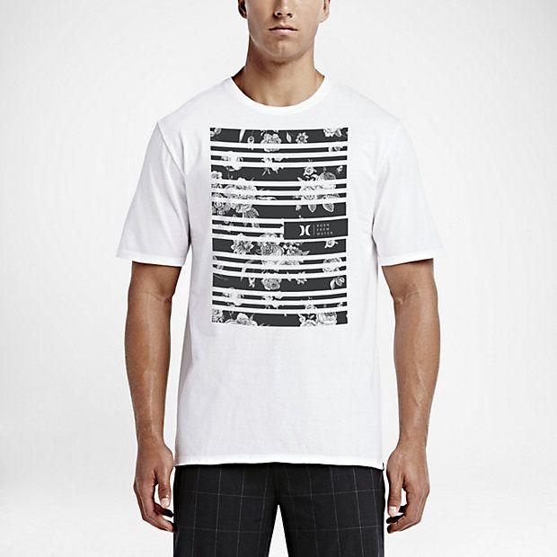 Hurley Striped Premium Camiseta - Hombre