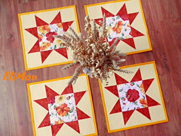 Placemats with poppies...summer
