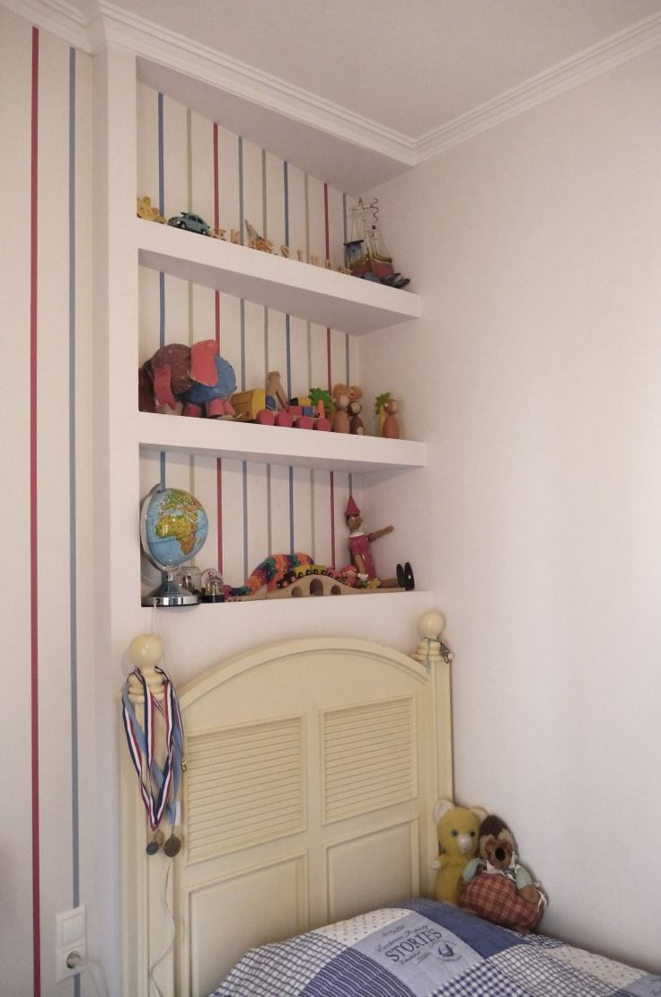 Maximo's corner shelves by www.mydreamroom.gr