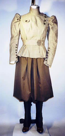 Victorian Bicycling Outfit......