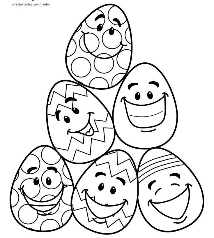 complex easter coloring pages - photo#28