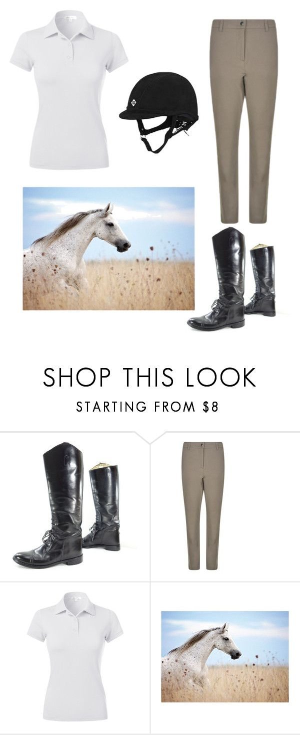"""""""Simple riding outfit"""" by buggystella ❤ liked on Polyvore featuring Belstaff"""