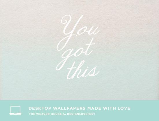 you got this desktop computer background