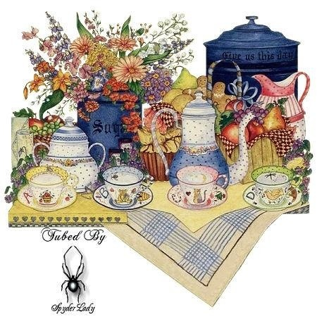 .: Country French, Teas Time, Glitter Graphics, French Country Style, Miniatures Teacups, Country Life, Kitchens Prints, Teas Parties, Decoupage Kitchens