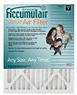 16x25x4 (15.5 x 24.5 x 3.63) Accumulair Emerald 4-Inch Filter (MERV 6) by Accumulair Emerald. $13.95. Accumulair Emerald is Economical, MERV 6 high-capacity media makes this filter an ideal upgrade from standard fiberglass throwaways. Captures a wide variety of airborne allergens including dust, mold, pet dander, and dust mites. Up to 8-times more effective at capturing micro particles than ordinary fiberglass filters. Excellent for high-velocity systems and maximum air f...