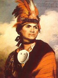 Joseph Brant (1742-1807) Mohawk Indian war chief, who supported the British in the American War for Independence. His Indian name was Thayendanegea. He was a convert to Christianity; remained loyal to the king. Brant led warriors against towns and villages held by rebels; the Cherry Valloey massacre in New York, in 1778, was the most notorious, when he temporarily lost control of the Seneca warriors under his command. Brant's loyalty was rewarded by a land grant to the Mohawk nation in…
