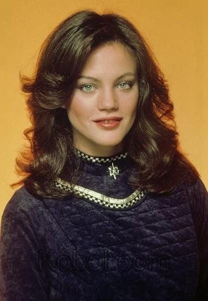 Athena (Maren Jensen) from 1978's Battlestar Galactica.