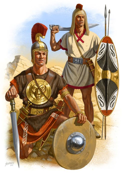 Iberian Warriors in the Army of Hannibal