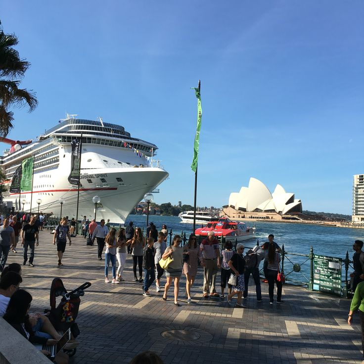 Carnival Spirit at Sydney Harbour
