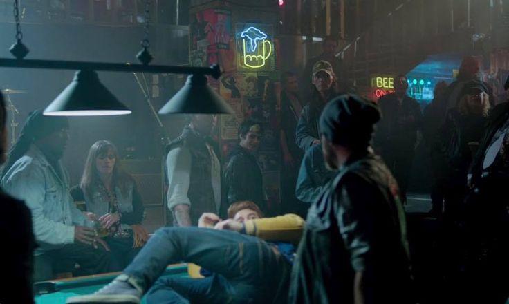Season 2 Riverdale S Jughead At Southside Serpents Bar