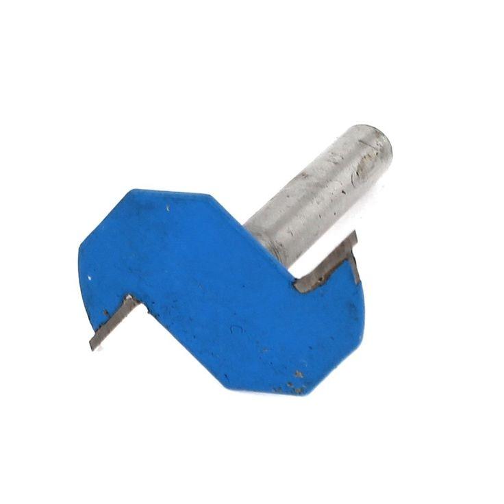 Falegname 0.6cm x 2mm Tipo T Fessura Sottosquadro Punta Instradatore Attrezzo Manuale: Amazon.it: Fai da te