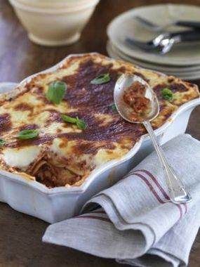 Chicken Lasagne with Fresh Basil - Very VERY tasty, would definitely make this again!!