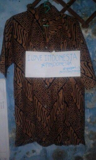 Batik warisan asli milik indonesia.jadi jangan malu untuk memakainya.#PINDONESIA